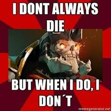 SKeleton King meme | Video Games | Pinterest | Skeletons and Meme via Relatably.com