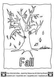 Small Picture Free Printable Harvest Coloring Sheets Pictures Fall Tree With