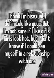 I think that im bisexual