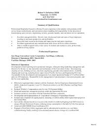 Housekeeper Resume Example Entry Level Hotel Strikingping Examples