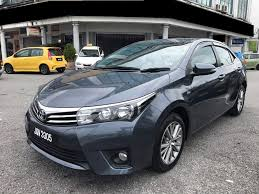 2015 Toyota Corolla Altis for sale in Malaysia for RM91,300 | MyMotor