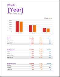 Family Budget For A Month 11 Family Monthly Budget Planner Templates For Excel