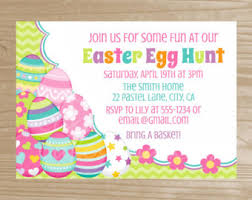 easter egg hunt template how to make easter egg hunt invitation png freeuse library free rr
