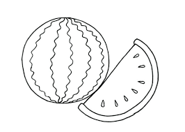watermelon for coloring watermelon coloring pages watermelon coloring pages to print