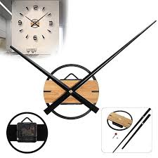 images gallery generic large silent quartz diy wall clock movement hands mechanism repair