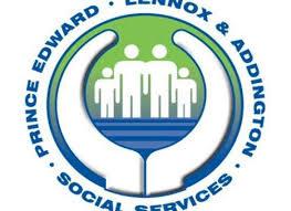 lennox logo. prince edward lennox and addington social services logo