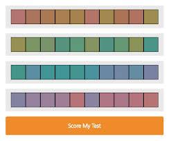 Color Intelligence Color Iq Test Pantone