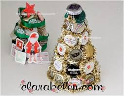 Decorated Bottle Caps Top 60 Upcycled Bottle Cap DIY Christmas Ornaments Top Inspired 30