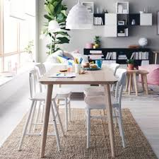 Ikea Dinning Room ikea dining room set white eames dining chairs gorgeous stain 3904 by uwakikaiketsu.us