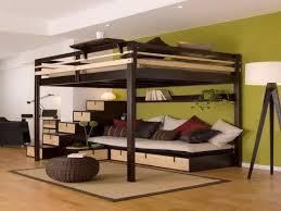 Full Size Loft Bed Frames - YouTube