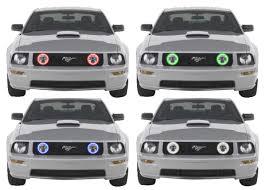 2006 Mustang Halo Lights Amazon Com Flashtech Led Rgb Multi Color Halo Ring Fog