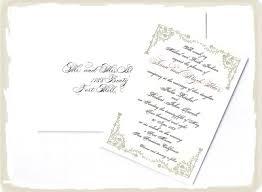 addressing wedding invitations emily post. emily post wedding invitation wording etiquette no children addressing invitations