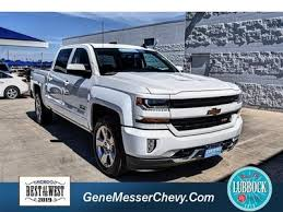 Used 2018 Chevrolet Silverado 1500 LT Crew Cab Pickup in Lubbock, TX near 79412   3GCUKREC7JG558878   PickupTrucks.com