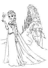 Frozen Coloring Pages Disney Printable Coloring Pages Frozen Frozen