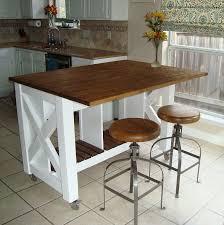 Rustic Kitchen Island Ideas Impressive Decorating Design