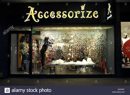 Most Retail Christmas Decorations Beauteous A Shop Worker Removes In The  Display Window