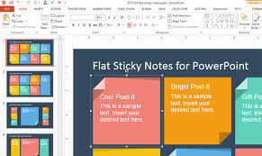 Design Own Powerpoint Template How To Add Custom Sticky Notes To Powerpoint Presentations