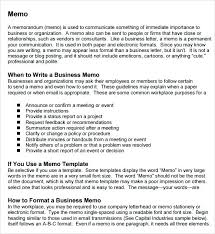 Professional Memo Template 6 Download Documents In Word Memorandum ...