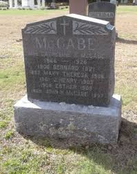 Mary Theresa MCCabe (1892-1906) - Find A Grave Memorial