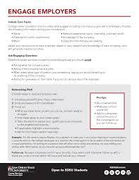 Career Fair Networking Guide Student Affairs Sdsu