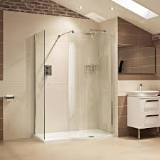 The Colossus shower enclosure features a luxurious curved walk-in option,  which maximises the showering area at all times.