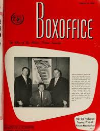 boxoffice january 27 1958