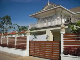 fence design. Simple Minimalist Wooden Fence Design I