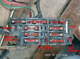 fuse box diagram the present chevrolet gmc truck fuse box diagram the 1947 present chevrolet gmc truck message board network