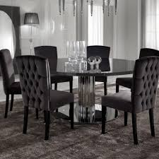 8 chair dining table modern glass set with 4 chairs round room and regarding modern round