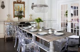 ghost chair dining room capiz chandelier transitional dining room lillian august of ghost chair dining room