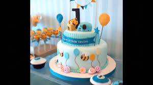 Baby Boy 1st Birthday Cake Photos Youtube