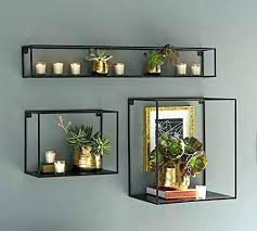 metal floating shelves steel floating shelf metal floating shelf the industrial metal wall shelf box 3