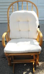 rocking chairs and gliders. Delighful Gliders Glider Rocking Chair  Or For Nursing White  Intended Chairs And Gliders W