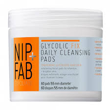 Buy Glycolic Fix <b>Daily Cleansing Pads</b> 60 Pack by Nip+fab Online ...