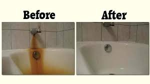 removing rust stains from bathtub interior how to remove iron rust from bathroom surfaces complete stains removing rust stains from bathtub