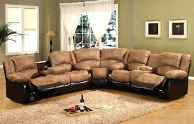 u shaped sectional with recliner. Modren With U Shaped Sectional With Recliners Medium Size Of Back Sofas Wrap Around Couch  Reclining Leather Chaise And Recliner D