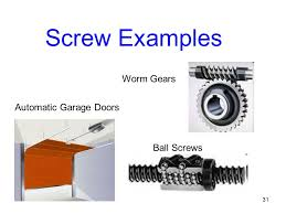 screw examples. Exellent Examples 31 Screw Examples Worm Gears Automatic Garage Doors Ball Screws And