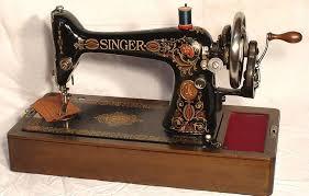 Singer Treadle Sewing Machine Model 66