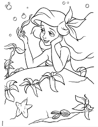 Small Picture 43 Princess Ariel Coloring Pages Cartoons printable coloring pages