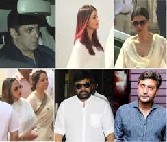 sridevi s shocked not only an entire subcontinent but also her colleagues in the industry her funeral on wednesday brought stars from both india