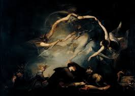 lady macbeth seizing the daggers henry fuseli exhibited  henry fuseli the shepherd s dream from paradise lost 1793