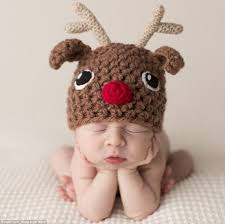 Photographer Sandi Ford's festive photo shoot see babies wearing ...