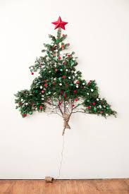 Roundup 10 Space Saving Christmas Trees You Can Hang On The Wall Christmas Trees That Hang On The Wall