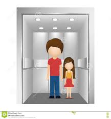 people in elevator clipart. people in elevator design royalty free stock image clipart
