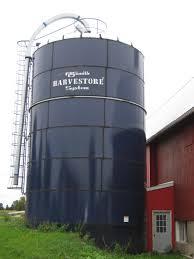 Harvestore Silo Capacity Chart Harvestore Silos Storage Manufacturer Cst Industries
