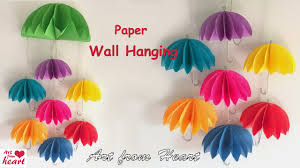 how to make wall hangings with paper by stunning