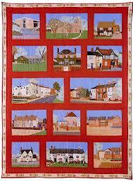 Mary Mayne - Eaton Bray Village Quilt - Eaton Bray & Eaton Bray Village QUilt Adamdwight.com