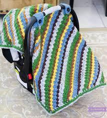 sequoia crochet car seat canopy