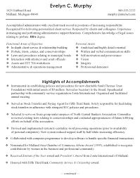 Administration Officer Sample Resume Mesmerizing Sample Resume For Administrative Officer Kenicandlecomfortzone