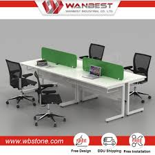 Office Cube Design Inspiration Modern Solid Surface Office Cubicle Workstation Design For 48 People